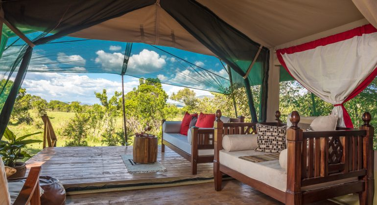 Guest Bedroom Losokwan Camp