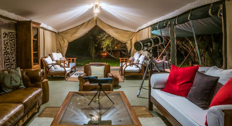 Lounge Tent Losokwan Camp